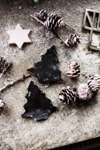 Weihnachtsdekoration, Weihnachten, DIY, Selbermachen, Nussknacker, Modelliermasse, Ausstechen, selber machen, rot, rosa, pink, mint, festlich