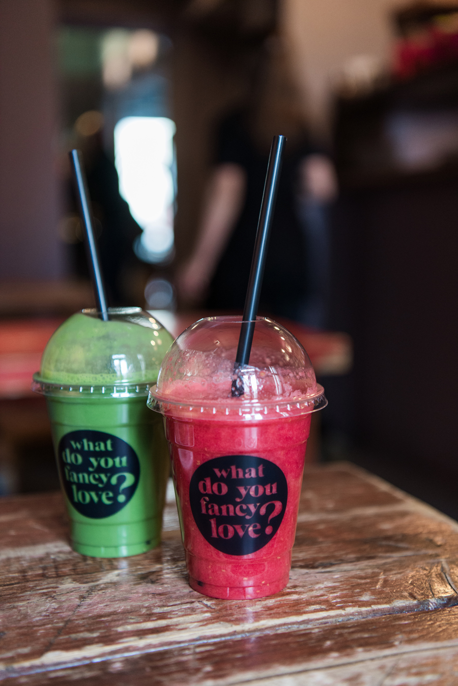Smoothies im Café what do you fancy love in Berlin