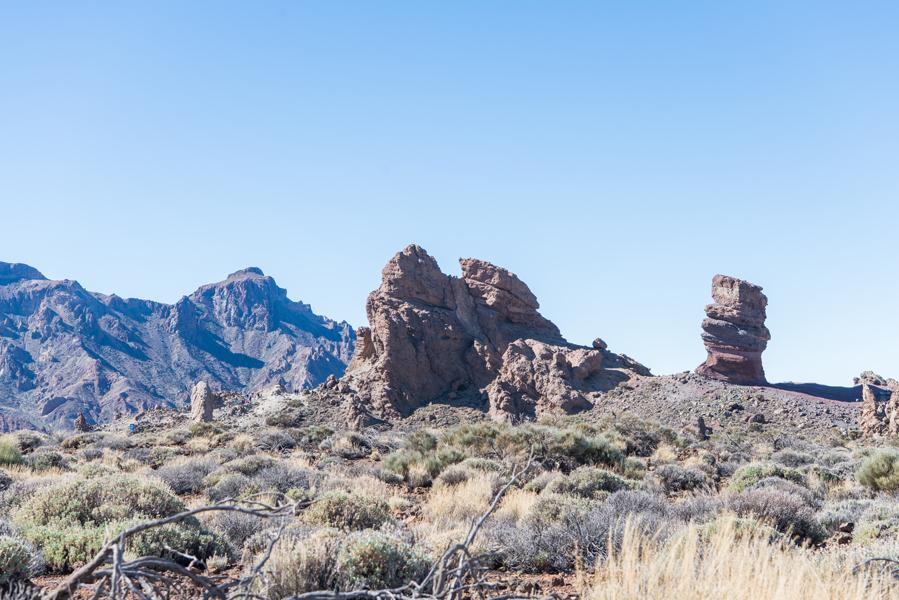 Im Nationalpark El Teide