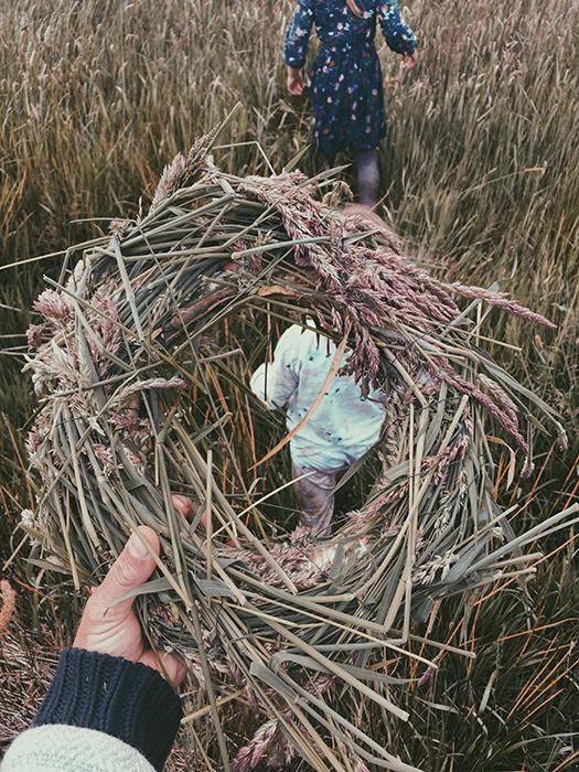 Türkranz aus Gräsern selber binden