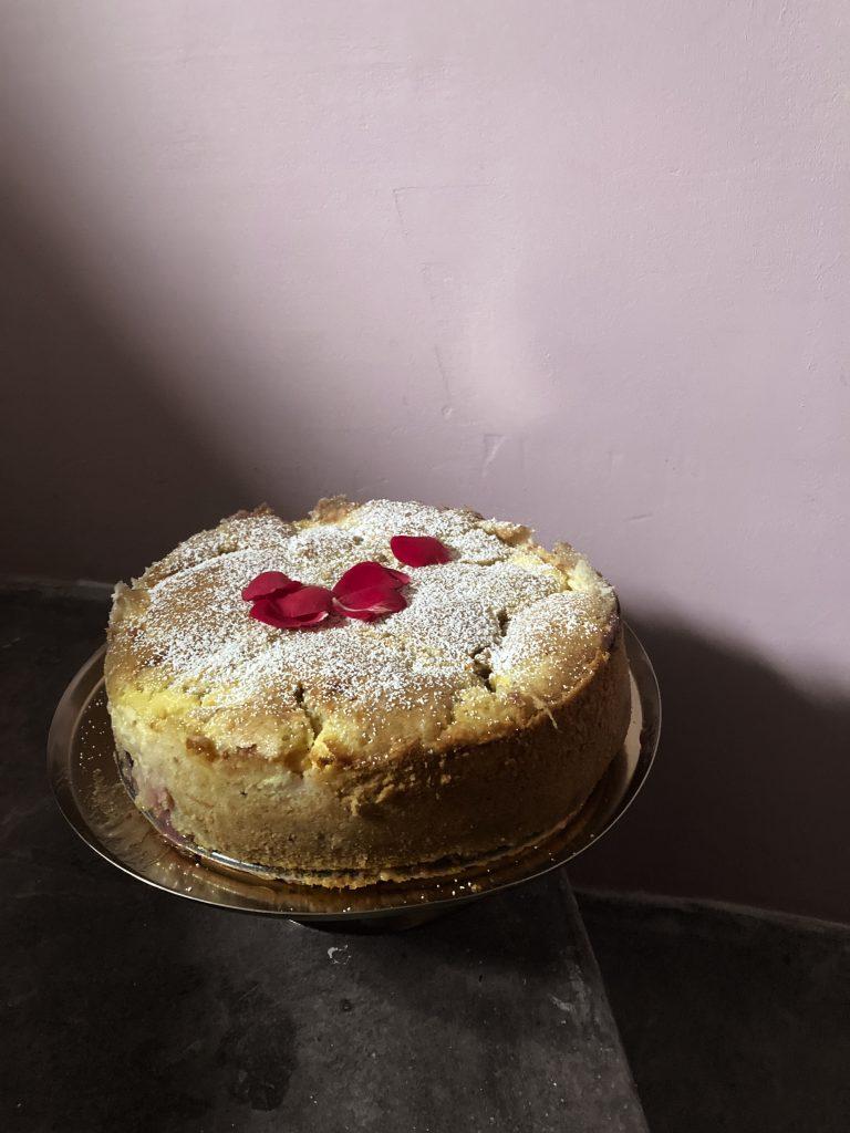 Ayran Kuchen mit Zwetschgen Backrezept